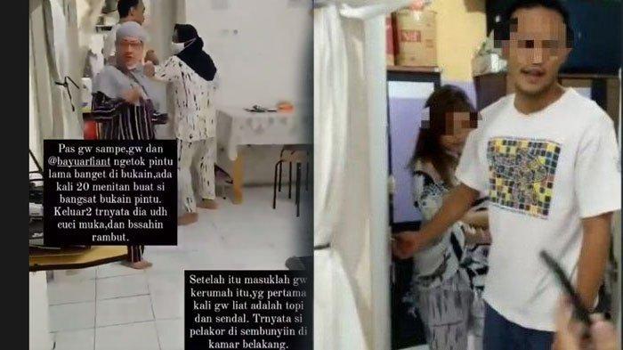 VIRAL Istri Lagi Hamil, Ngamuk Gerebek Suami Selingkuh: Lu Tidur di Kamar yang Sering Gue Sholatin