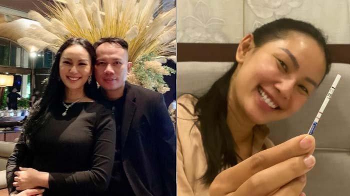 Ucap Syukur, Kalina Ocktaranny Umumkan Kehamilan, Istri Vicky Prasetyo Pamerkan 2 Garis di Test Pack