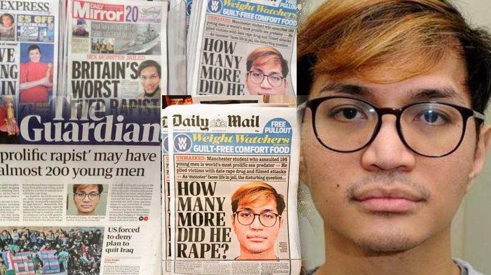 Jadi Headline Internasional, Ini Sebutan Reynhard Sinaga Oleh Media Inggris, Predator & Peter Pan