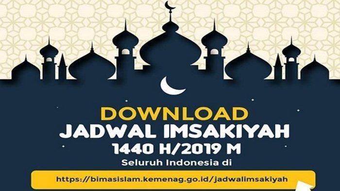 Resmi Dirilis Kementerian Agama, Simak Jadwal Imsakiyah ...