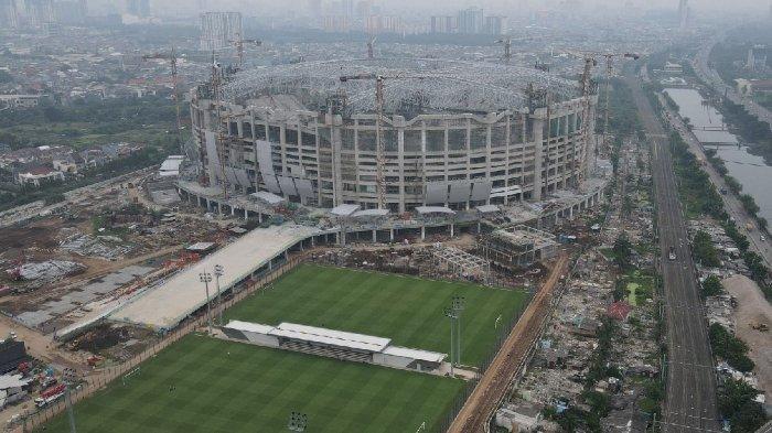 Landscape Jakarta International Stadium.
