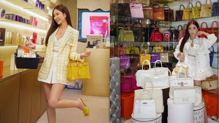 Jamie Chua dan koleksi tas branded miliknya