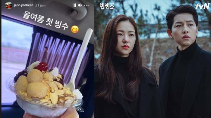 Sikap Song Joong Ki Curi Perhatian Publik, Kirim Bingsoo ke Jeon Yeo Bin di Lokasi Syuting Glitch