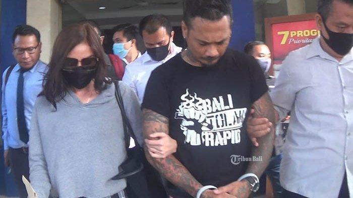 Jerinx ditahan di Rutan Polda Bali, Rabu (12/8/2020).,