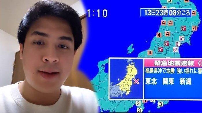 Rumah Bergetar Hebat, YouTuber Jerome Polin Takut Gempa Jepang Susulan & Tsunami, Chef Arnold Berdoa