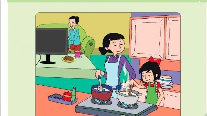 KUNCI JAWABAN Tema 9 Kelas 5 SD Hal 120-127, Bedakan Zat di Bahan-bahan yang Digunakan Ibu Memasak