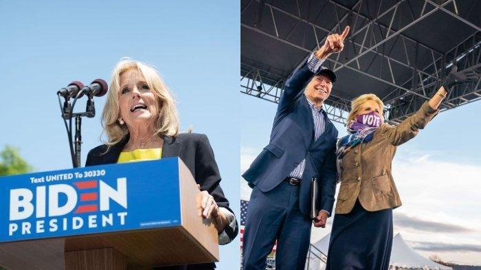 SESAAT LAGI Gantikan Melania Trump, Ini Profil Jill Tracy Biden, Calon Ibu Negara Baru Amerika