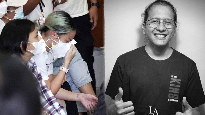 Tangis Joanna Alexandra Ratapi Jenazah Raditya Oloan, Ikhlas Melepas Sang Suami, Dimakamkan Hari Ini
