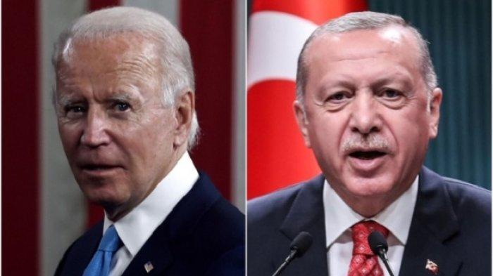 'Anda Tulis Sejarah dengan Tangan Berdarah' Kecaman Erdogan Buat Biden yang Manjakan Kekejian Israel