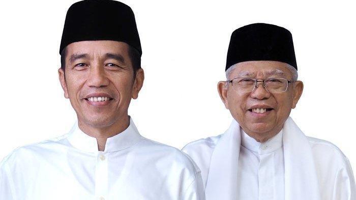 Jadwal pelantikan Jokowi dan Maruf Amin