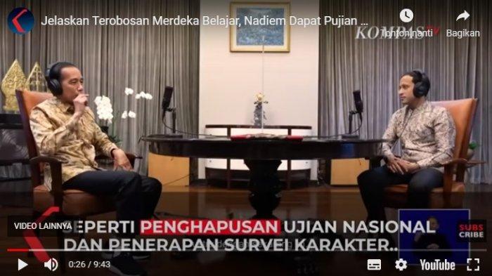 Apa Itu Survei Kharakter? Penjelasan Nadiem Makarim di Podcast, Jokowi Kaget 'Wow, Bagus Sekali!'