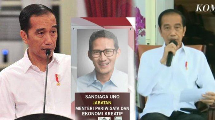Jokowi Umumkan 6 Menteri Baru, Terawan-Wishnutama Diganti, Risma Jadi Mensos, Ini Jadwal Pelantikan