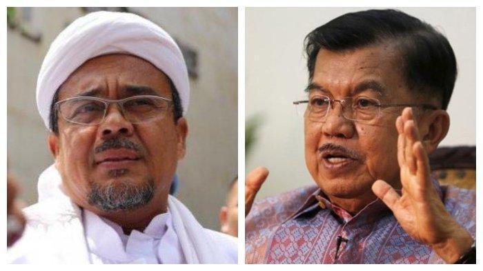 PENYEBAB TNI/ Polri Ikutan Repot Tangani Rizieq & FPI, Sindiran Jusuf Kalla: Ada Kekosongan Pemimpin