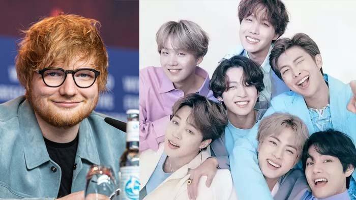Kolaborasi Internasional, Ed Sheeran Bakal Terlibat di Lagu Baru BTS, Ini Pengakuan Pelantun Perfect