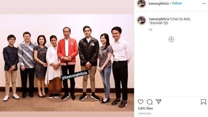 Kabar lamaran putra Jokowi, Kaesang Pangarep dan Felicia Tissue