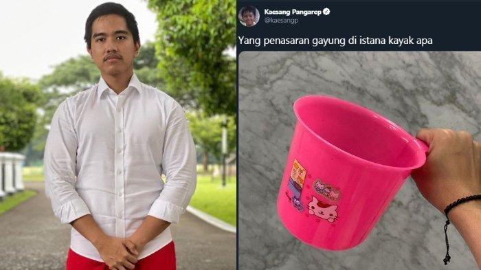 SISI MERAKYAT Istana Jokowi Dibongkar Kaesang Pangarep: Botol Terbalik hingga Gayung, Mirip Punyamu?