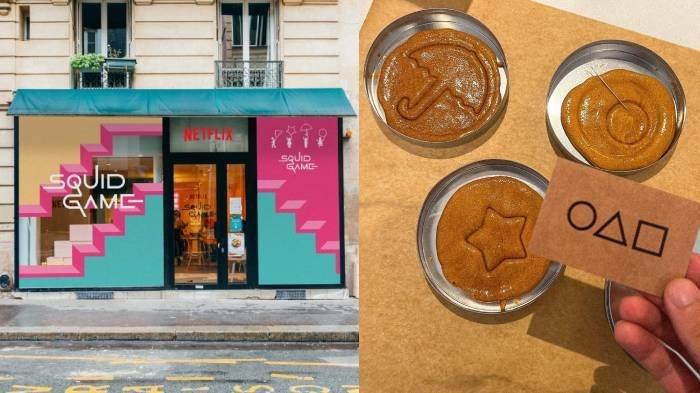 Tengah Populer, Kafe Squid Game di Paris, Prancis Dikerumuni Banyak Fans, Seperti Ini Isinya