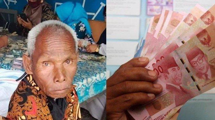 DIKIRA Tak Terurus, Kakek Tunarungu Ini Ternyata Jutawan, Simpan Uang di Karung Totalnya Fantastis