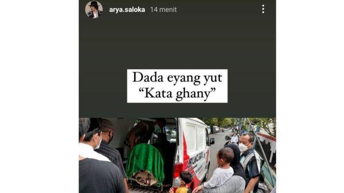 Kakek Arya Saloka meninggal