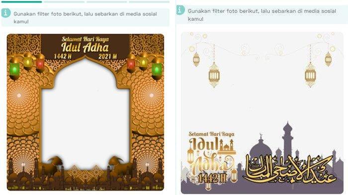 GAMPANG Bikin Kartu Ucapan Idul Adha 2021 Lewat Twibbon, Bisa Dibagikan ke Keluarga, Klik 25 Linknya