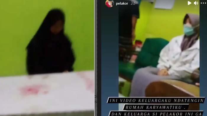 'Aku Cuma Korban' Karyawati Nangis Depan Istri Sah, Mendadak Resign Ketahuan Rebut Suami Majikan