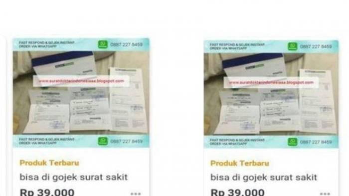 4 Fakta Penangkapan Komplotan Pemalsu Surat PCR, Dijual 1 Juta & Sudah Terjual Sekitar 200 Lembar