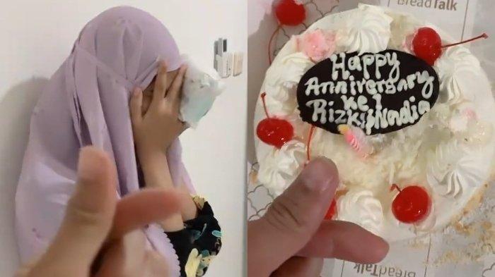 Kebahagiaan Rizki DA beri kejutan anniversary ke Nadya Mustika.