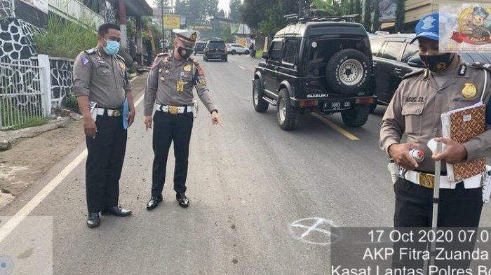 FAKTA Kecelakaan Maut di Puncak Bogor, Truk Keluar Jalur, Ini Kronologi & Identitas 5 Korban Tewas
