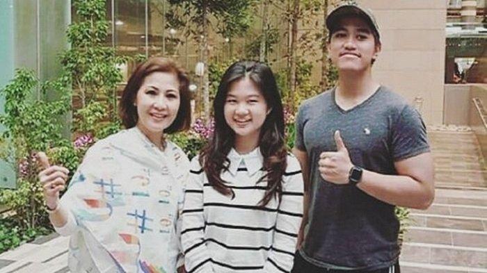 Kenangan fotoKaesang Pangarep, Felicia Tissue, dan Meilia Lau