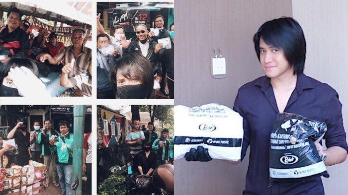 Humble, Kevin Aprilio Rayakan Ultah ke-30 di Jalanan, Bagi-bagi Masker Pada Ojol dan Masyarakat Umum
