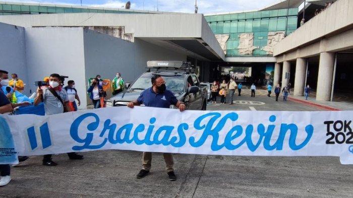 Kevin Cordon disambut meriah di Guatemala
