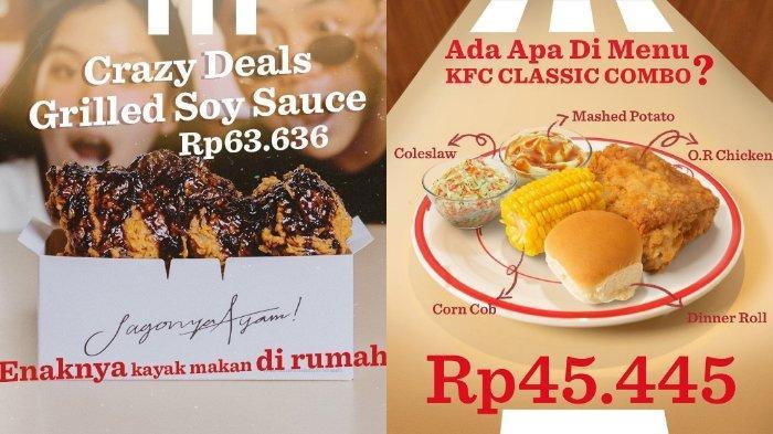 KFC Crazy Deals Grilled Soy Sauce.