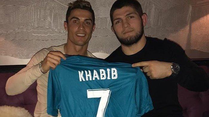 Khabib Nurmagomedov & Cristiano Ronaldo.