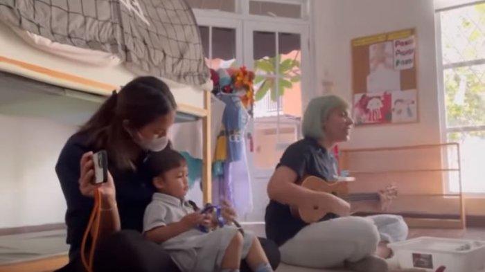 CURHAT Paula, Kelakuan Kiano Pertama Masuk Sekolah, Lakukan Ini Depan Guru: Aduh, Sebagai Ibu Malu