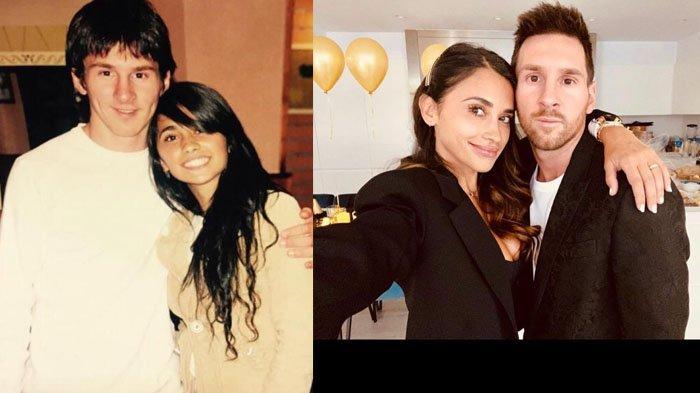 Kisah Lionel Messi, nikahi cinta masa kecilnya