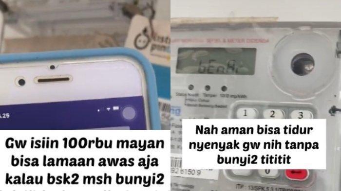 Kisah perempuan mengisi token listrik tetangga karena terganggu suara meteran listrik.