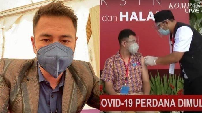 Vaksinasi Dosis Kedua, Raffi Ahmad Ungkap Efek hingga Imbau Jangan Takut, Lempar Pujian untuk Jokowi