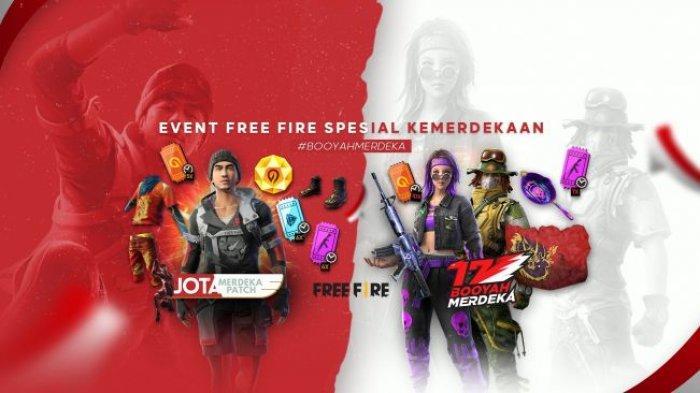 KODE REDEEM FF Free Fire Spesial Kemerdekaan Rabu 18 Agustus 2021, Tukar Kode Dapatkan Skin Menarik