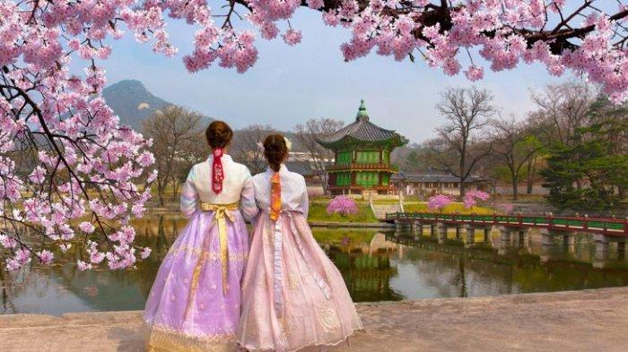 Kostum tradisional Korea Selatan