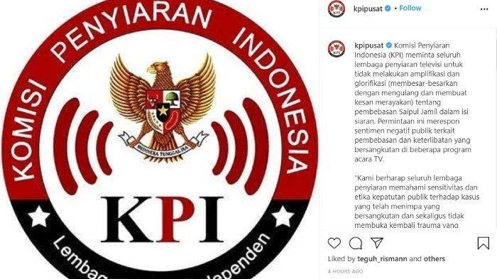 KPI resmi larang Saipul Jamil muncul di televisi