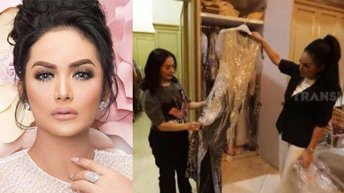 Iis Dahlia Bongkar Ruang Wardrobe Krisdayanti, Ungkap Mimi Tak Pernah Mau Nawar Baju Desainer