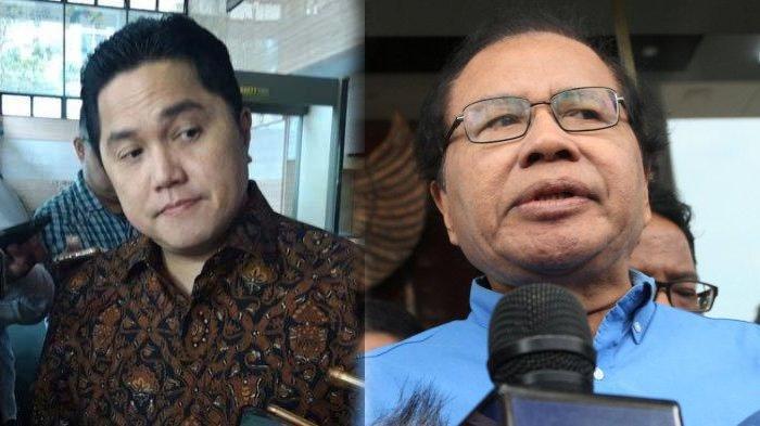 POPULER Kritik Rizal Ramli Soal Pernyataan Erick Thohir Tentang Akhlak, Pamer Prestasi Dirut Bulog