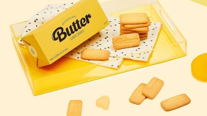 Menchandise Lagu BTS 'Butter', Kue Mentega Laris Terjual Kurang dari Semenit, Berapa Harganya?