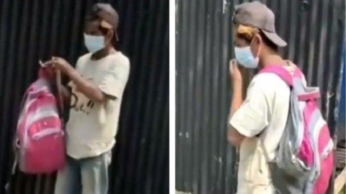 VIRAL Kuli Bangunan Dipecat Karena Tak Pakai Masker, Kini Bernasib Mujur, Bakal Jadi Juragan Bakso