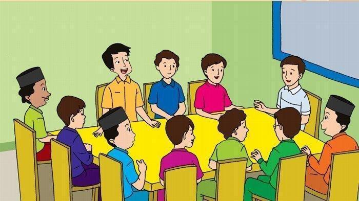 SOAL & KUNCI JAWABAN Tema 1 Kelas 5 Hal 31-40, Gotong Royong & Musyawarah di Wilayah Tempat Tinggal