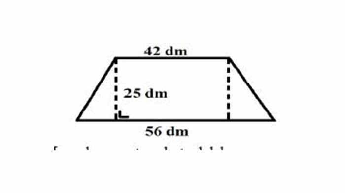 SOAL & KUNCI JAWABAN Latihan USBN Pelajaran Matematika SD/MI, Berapa Luas dari Bangun Berikut Ini?