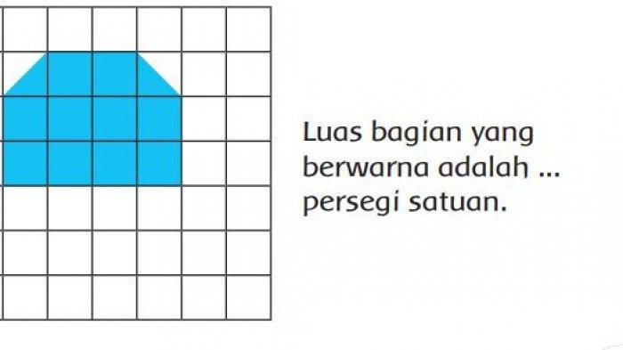 KUNCI JAWABAN Tema 6 Kelas 3 SD Subtema 4, Dapatkah Kamu Menghitung Luas Bagian yang Ditanami Udin?