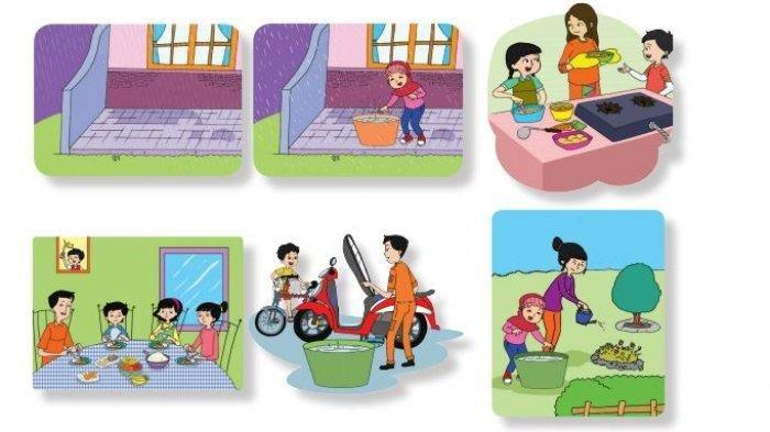 KUNCI JAWABAN Tema 6 Kelas 3 SD/MI Subtema 4, Pertanyaan dari Bacaan 'Memanfaatkan Air Hujan'