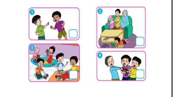 KUNCI JAWABAN Tema 7 Kelas 2 SD, Beri Tanda Centang di Gambar yang Menunjukkan Perilaku Menghormati