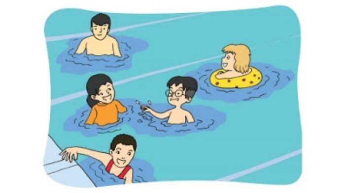 KUNCI JAWABAN Tema 7 Kelas 3 SD Subtema 4 Halaman 191 Sampai 197, Ceritakan Pengalamanmu Berenang